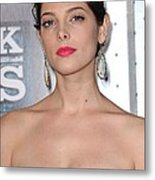Ashley Greene At Arrivals For Sherlock Metal Print