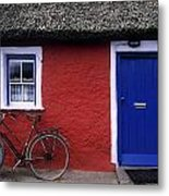 Askeaton, Co Limerick, Ireland, Bicycle Metal Print