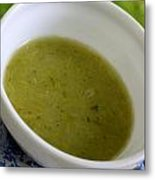 Asparagus Soup Metal Print