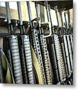 Assault Rifles Stand Ready Metal Print
