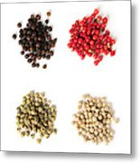 Assorted Peppercorns Metal Print