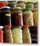 Assorted Spices Metal Print
