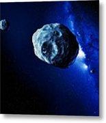 Asteroids Metal Print by Detlev Van Ravenswaay