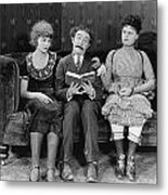 Astray From The Steerage Metal Print