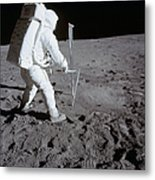 Astronaut During Apollo 11 Metal Print