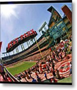 At And T The Stadium Metal Print