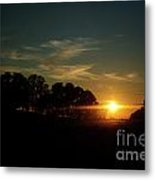 At Day's End Metal Print