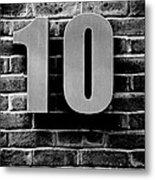 At Number 10 Metal Print by Jez C Self
