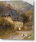 At Symondsbury Near Bridport Dorset Metal Print