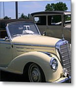 At The Car Show Metal Print
