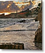 At The Edge Of The World Metal Print