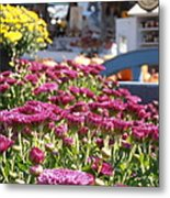 At The Farm Stand Metal Print