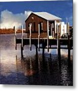At The Marina Metal Print