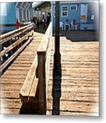 At The Piers End Metal Print