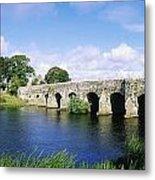 Athboy, Co Meath, Ireland Bridge Metal Print