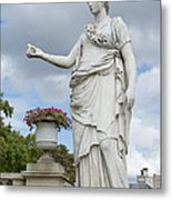 Athena And The Owl Metal Print
