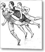 Athletics: Track, 1890 Metal Print by Granger