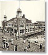 Atlantic City Steel Pier 1910 Metal Print