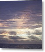 Atlantic Ocean Sunrise 1 Metal Print