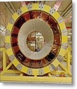 Atlas Detector Module Metal Print