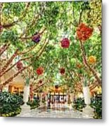 Atrium At The Wynn 2 Metal Print