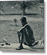 Atrocities Of The Rubber Slavery Metal Print by Everett