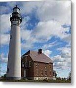 Au Sable Lighthouse 1 Metal Print