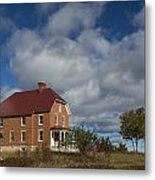 Au Sable Lighthouse 2 Metal Print