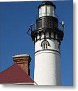 Au Sable Lighthouse 6 Metal Print