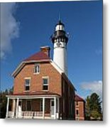 Au Sable Lighthouse 7 Metal Print