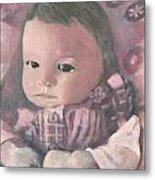 Aubrey Metal Print by Lyn Vic