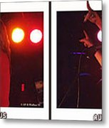 Audio Outlaws - Cross Your Eyes And Focus On The Middle Image Metal Print