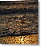 August Sunset Metal Print