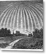 Aurora Borealis, 1837 Metal Print