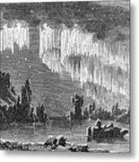 Aurora Borealis, 1868 Metal Print