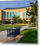 Aurora Municipal Center Metal Print by Sergio Aguayo