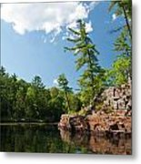 Ausable Chasm 1618 Metal Print