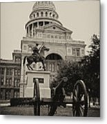 Austin Capitol Metal Print by Lisa  Spencer