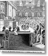 Austrian Assembly, 1848 Metal Print