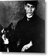 Author Franz Kafka, Ca. 1910s Metal Print