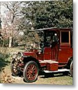 Auto: French Taxi, 1908 Metal Print