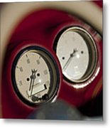Auto Meter Dashboard Guages Metal Print