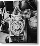 Autobiographical Still Life Metal Print