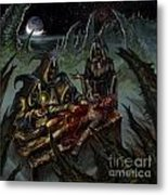 Autopsy Of The Damned  Metal Print