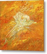 Autum Angel Metal Print