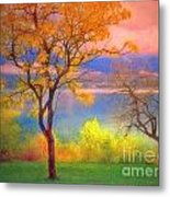 Autum Morning Metal Print