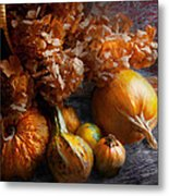 Autumn - Gourd - Still Life With Gourds Metal Print