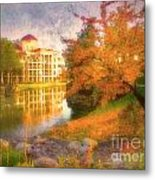 Autumn And Architecture Metal Print