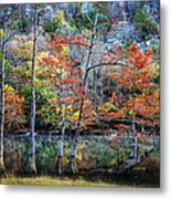 Autumn At Beaver's Bend Metal Print by Tamyra Ayles
