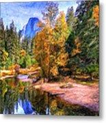 Autumn At Yosemite Metal Print